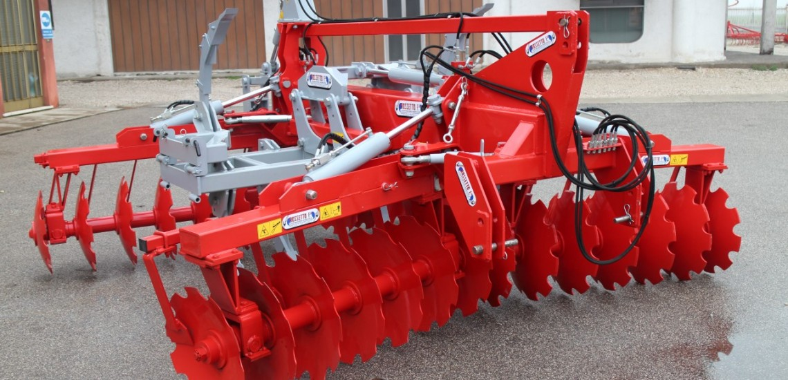X combined disk harrow m 3,80